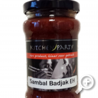 Sambal Bajak extra heet , Lucullus , Kitchen Party
