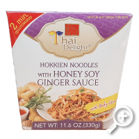 TD Noodles honey/soy, honing soya saus, sauce, lucullus, thai delight, noedels