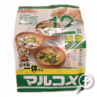 Instant Miso soup , Marukome Family-pack , lucullus